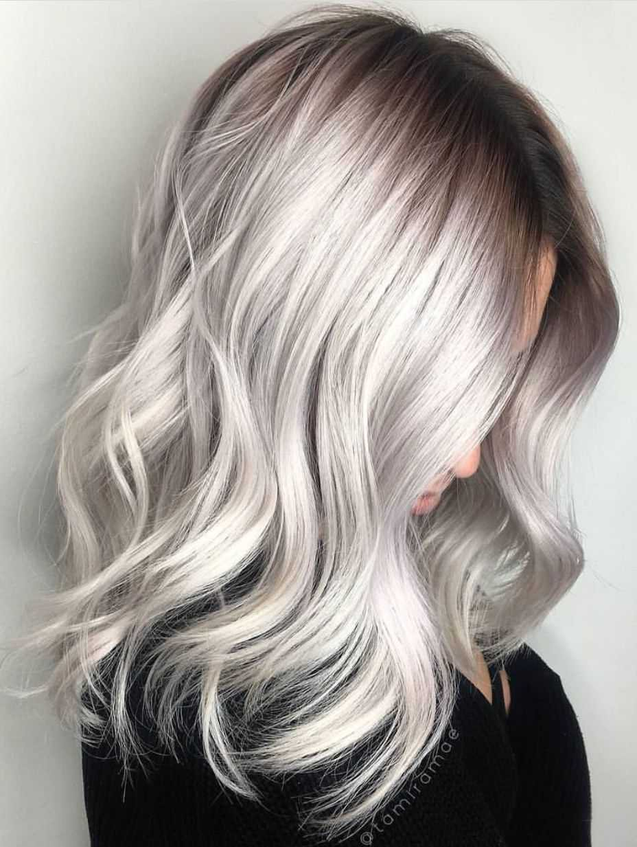 grey dyed hair - Google Search