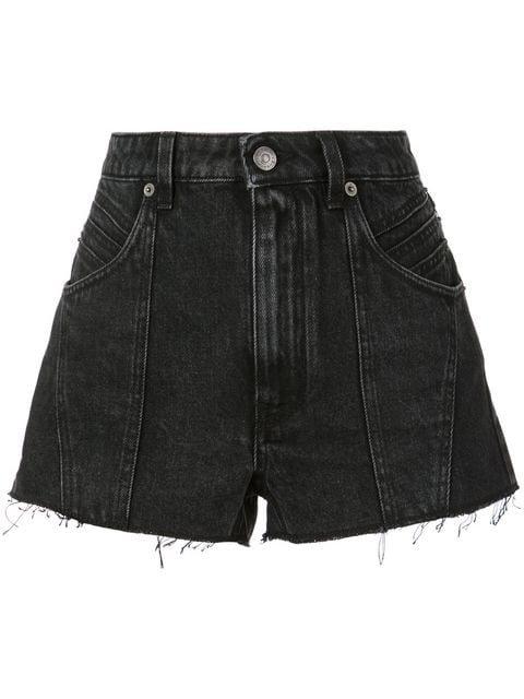 Givenchy Raw Edge Denim Shorts - Farfetch