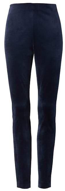 Devon Legging-Fit Stretch-Velvet Ankle Pant