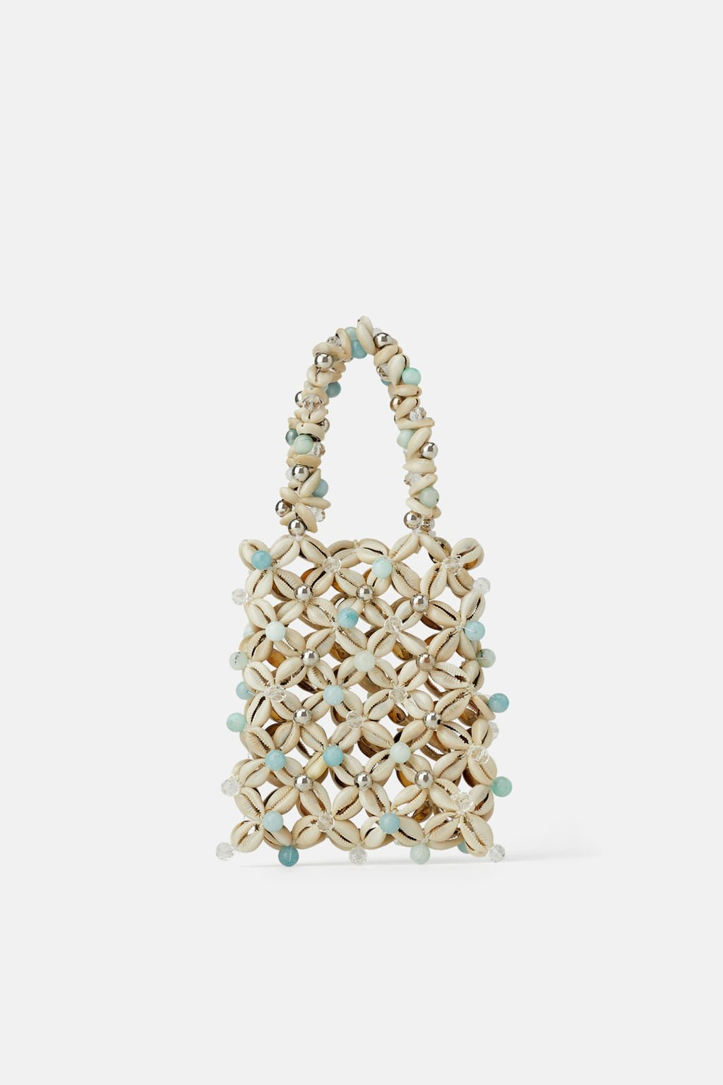 MINI HANDBAG WITH SHELLS - Party Bags-BAGS-WOMAN | ZARA United States