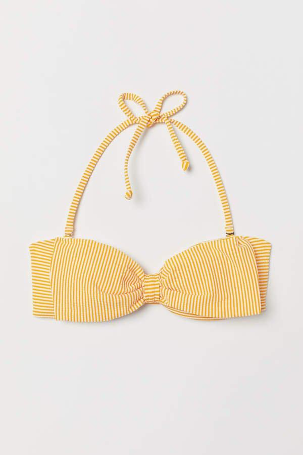 Bandeau Bikini Top - Yellow