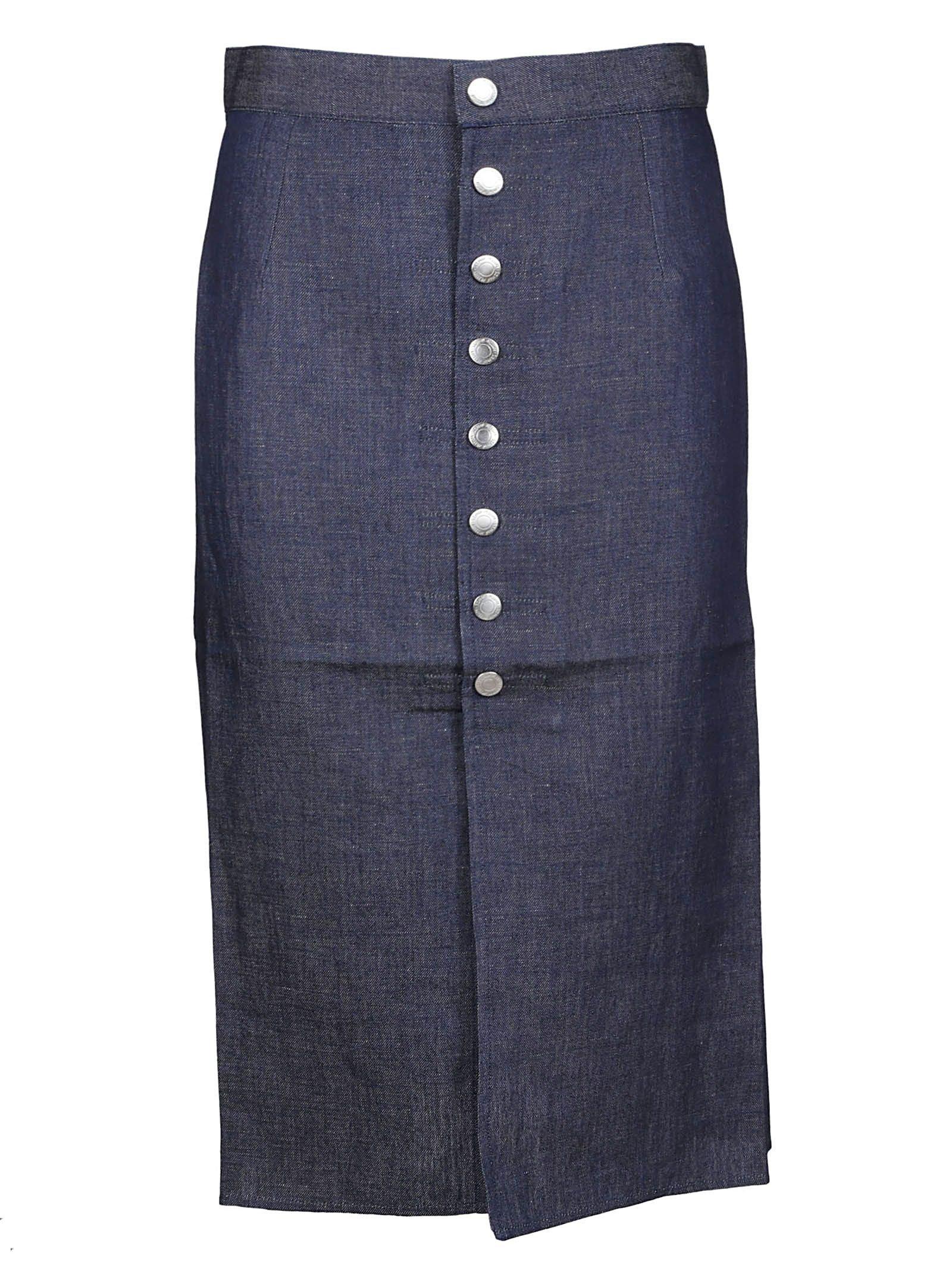 Simon Miller Denim Midi Skirt