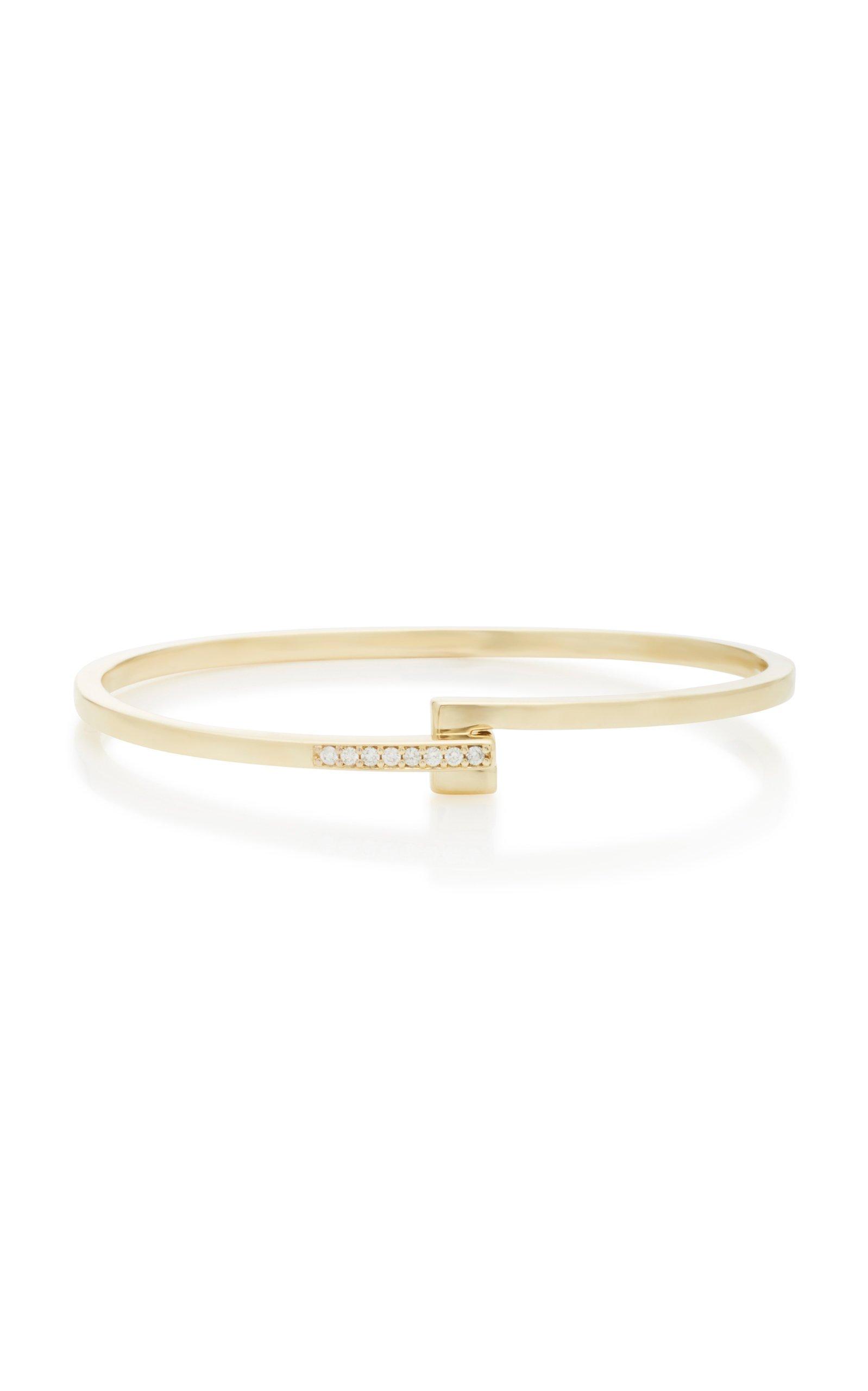 MIANSAI Cubist 14K Gold Diamond Bracelet