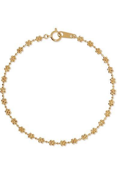 Poppy Finch | 18-karat gold bracelet | NET-A-PORTER.COM