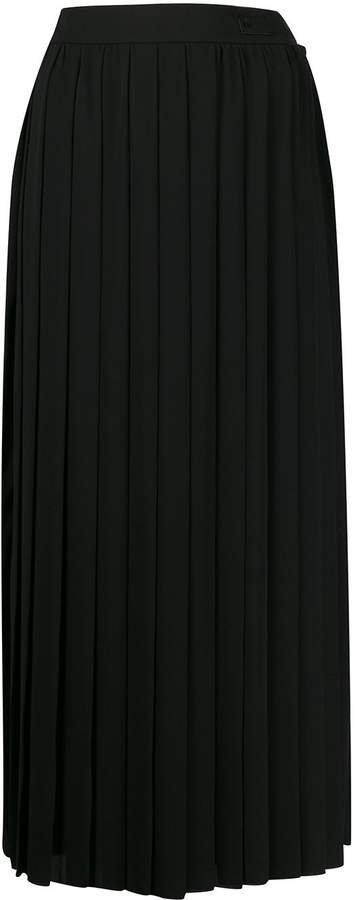 Be High Waist Pleated Skirt