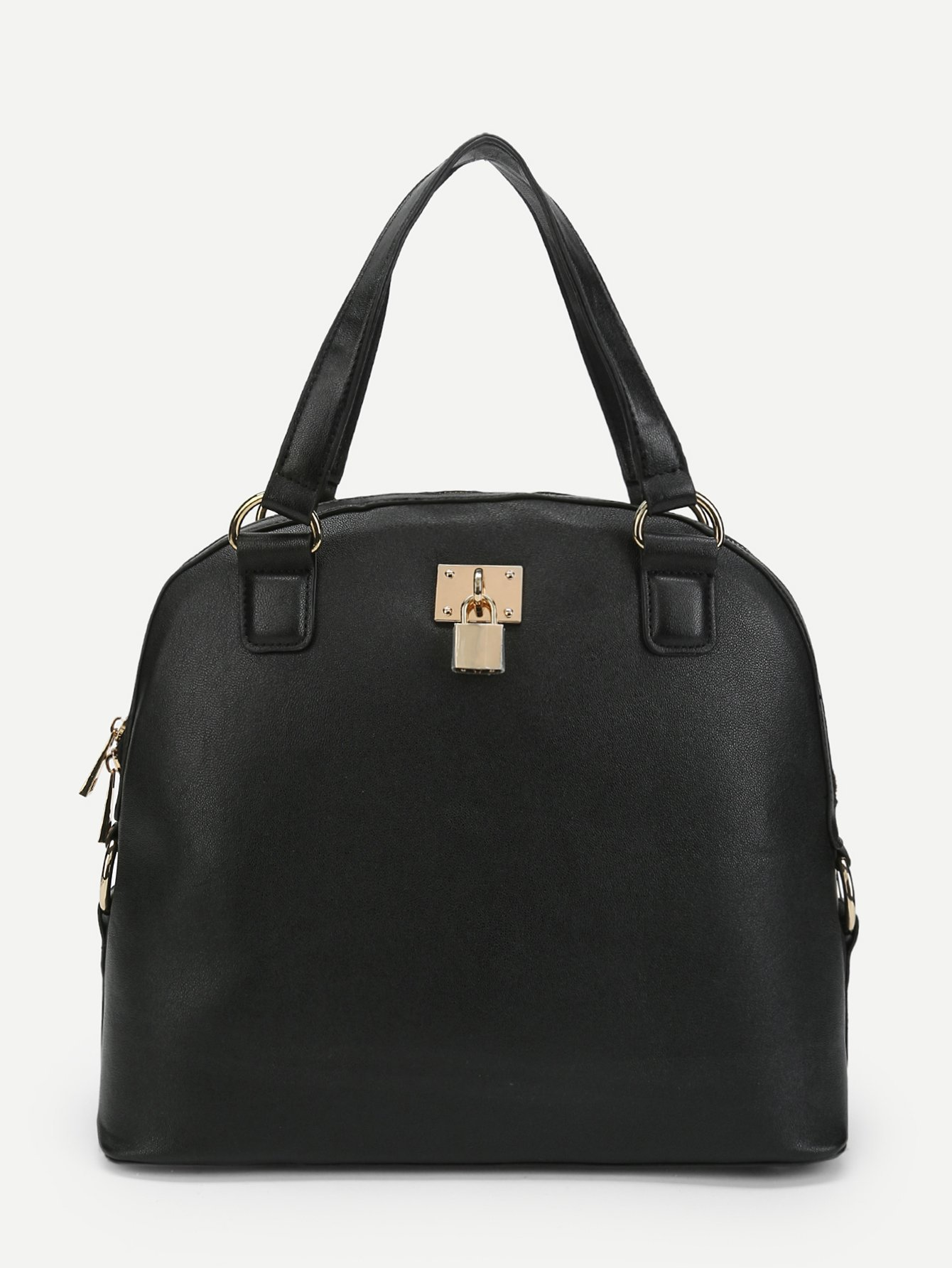 Double Handle PU Tote Bag