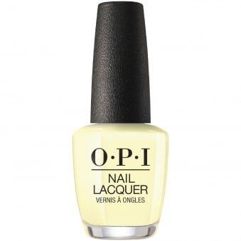 yellow opi nail polish