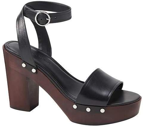High Block-Heel Sandal
