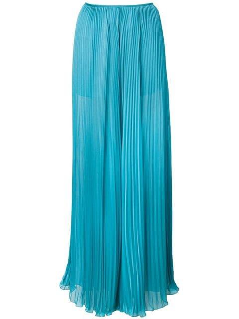 Alberta Ferretti Pleated wide-leg Trousers - Farfetch
