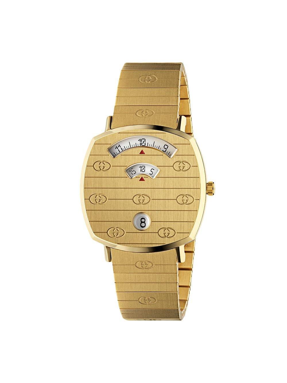Gucci Grip 35mm Watch - Farfetch