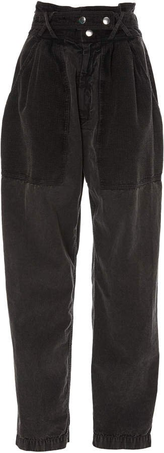 Turner High-Rise Tapered-Leg Jeans