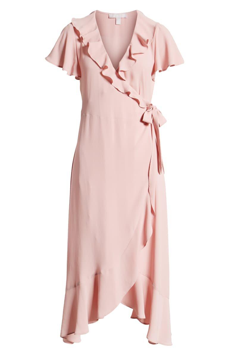 Chelsea28 Ruffle Wrap Dress | Nordstrom