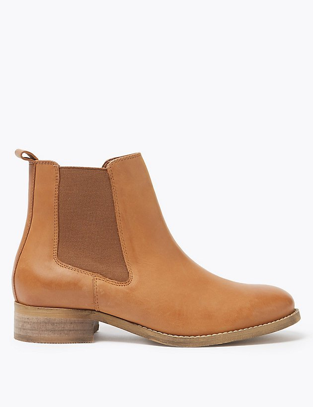 Leather Chelsea Boots | M&S Collection | M&S
