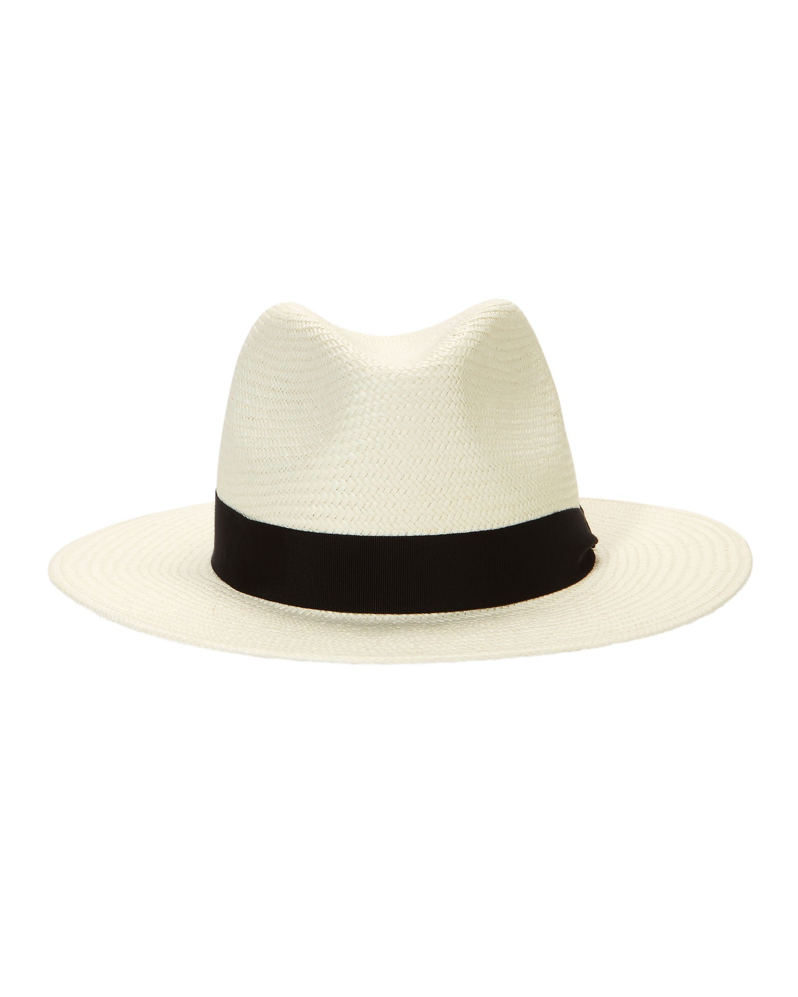 Rag & Bone White Panama Hat - INTERMIX®