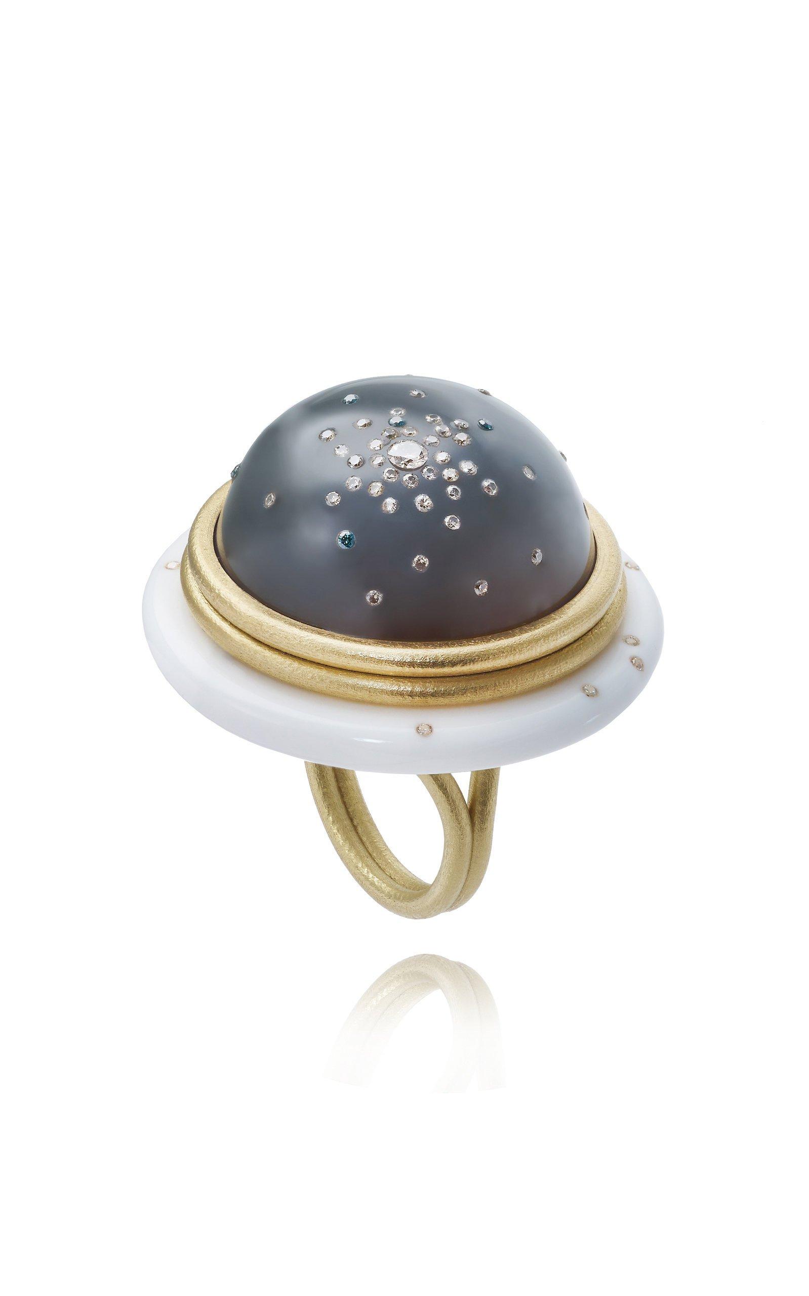 Jacqueline Cullen Galactica Ufo Ring