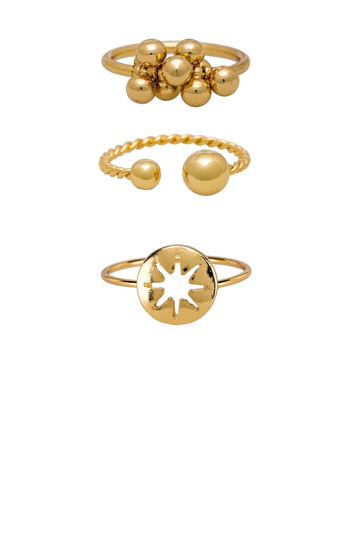 Bauble Ring Set