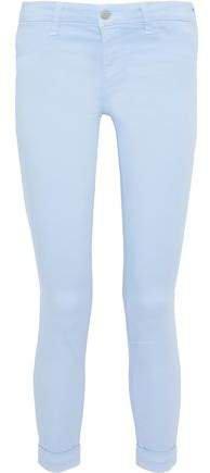 Cotton-blend Skinny Pants