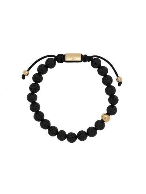 Northskull Lava Stone beaded bracelet