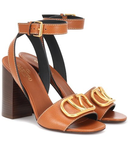 Valentino Garavani Go Logo leather sandals