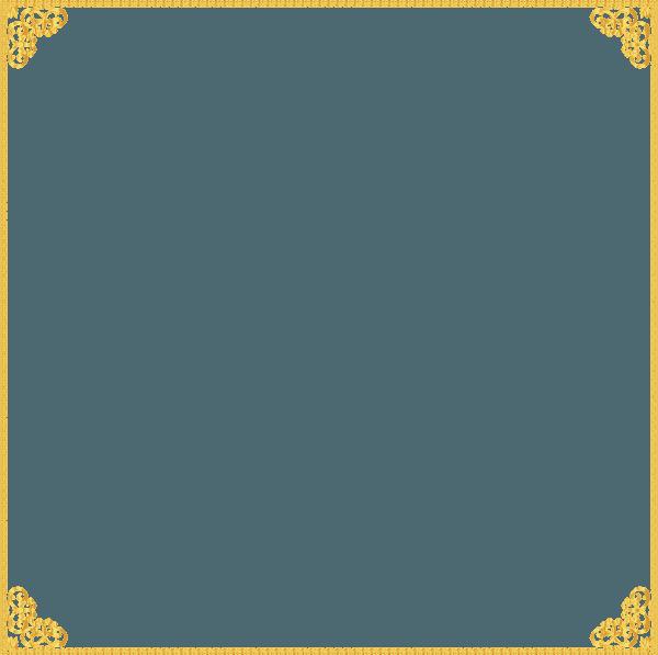 Gold Border Frame Transparent PNG Vector, Clipart, PSD - peoplepng.com