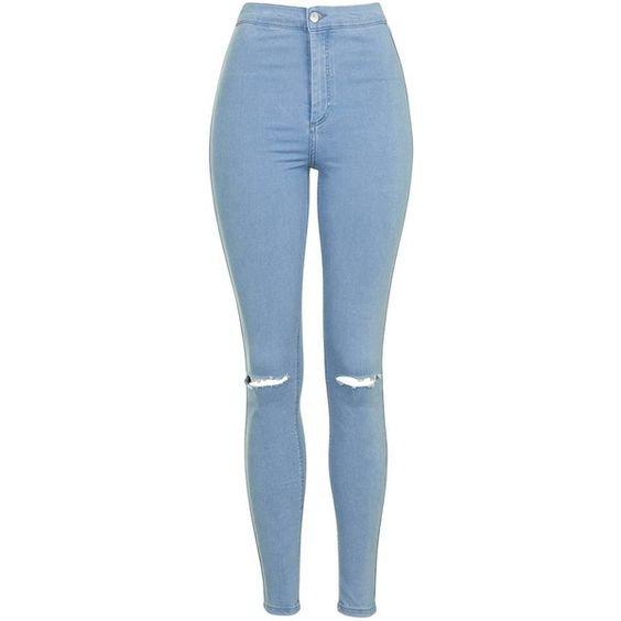 TopShop Moto Bleach Rip Joni Jeans