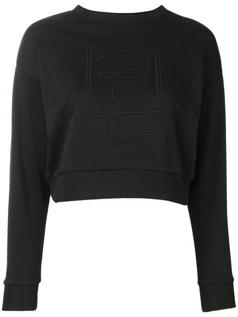 Fila embroidered logo sweatshirt $113 - Shop SS19 Online - Fast Delivery, Price