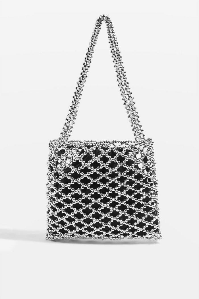 Cindy Net Tote Bag   Topshop