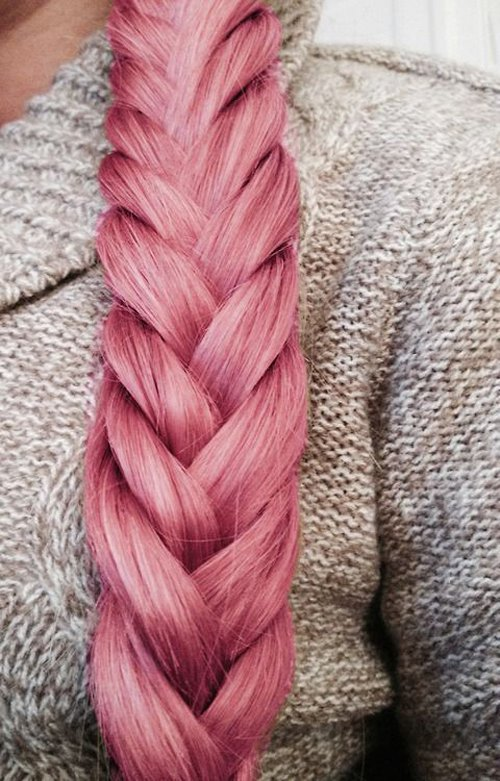 Pink Hair- Braid