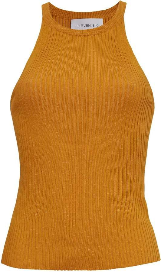 Six Lia Tank - Golden Yellow