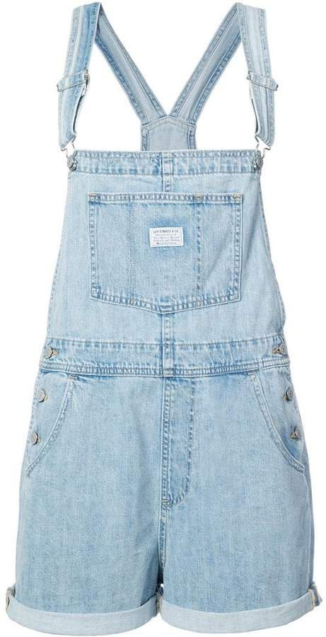 classic fitted dungarees