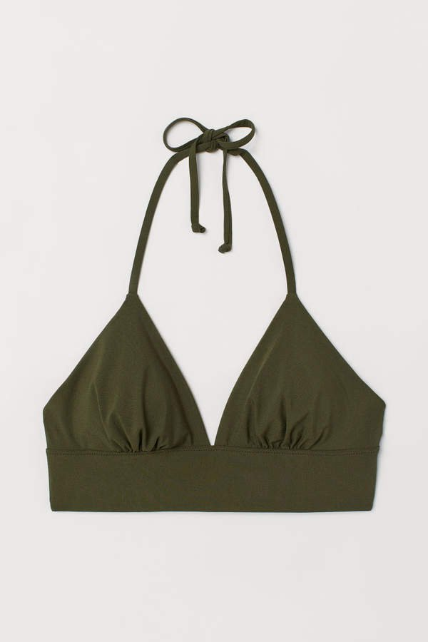 Triangle Bikini Top - Green