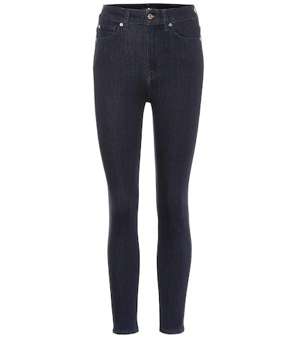 Aubrey mid-rise skinny jeans