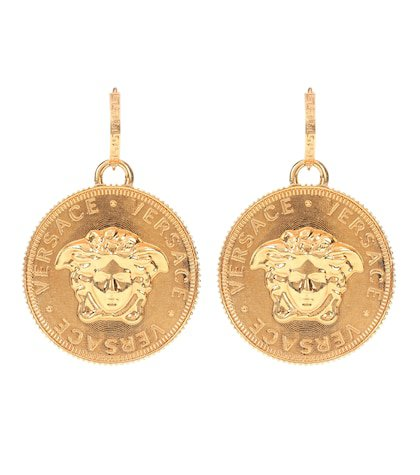 Tribute gold-plated earrings
