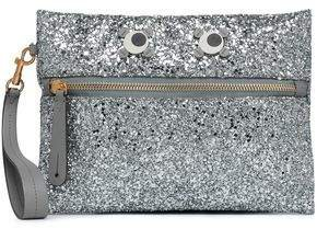 Appliqued Glittered Pvc Pouch