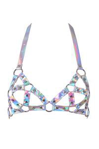 Outer Space Body Harness in Hologram – THE LUMi SHOP