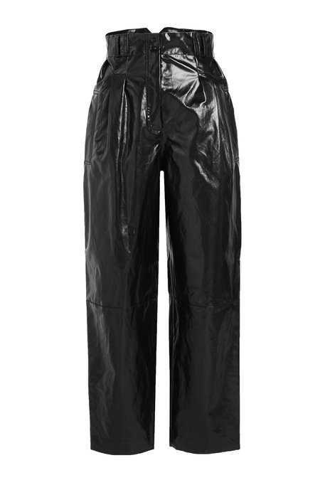 Philosophy di Lorenzo Serafini - High-Waist Patent Pants - Sale!
