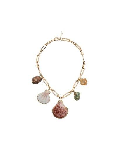 MANGO Shells necklace