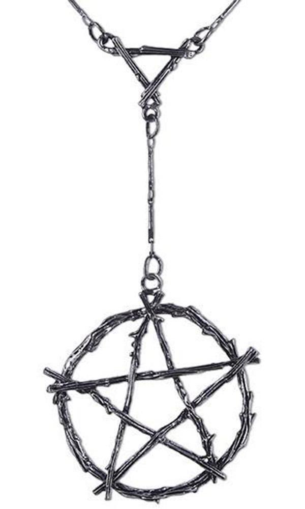 Restyle - Branch Pentagram Necklace