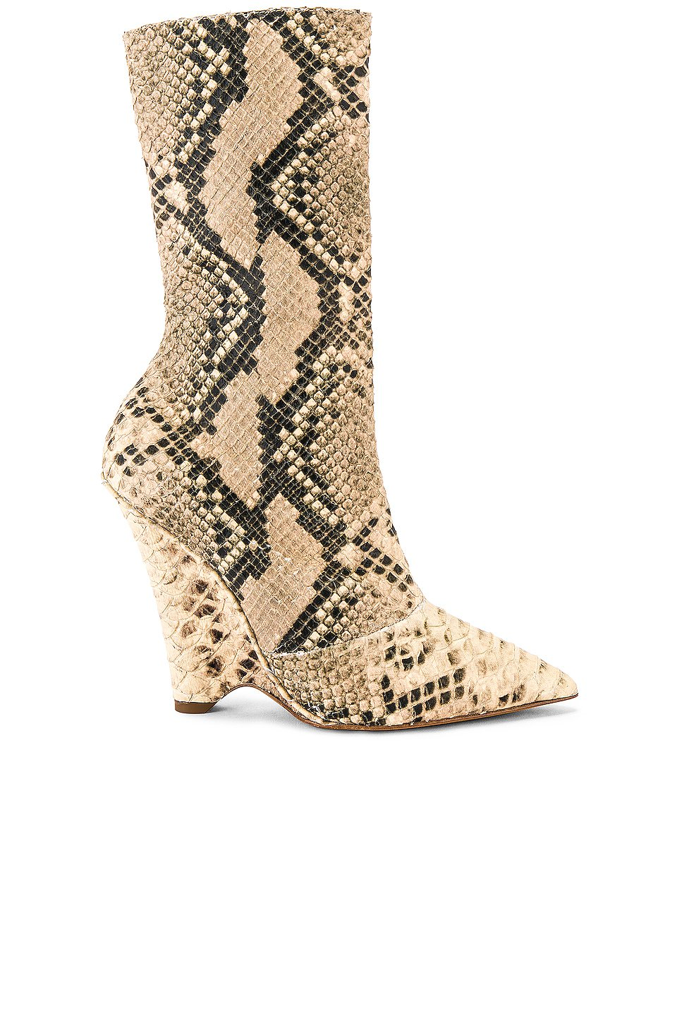SEASON 8 Python Wedge Ankle Boot