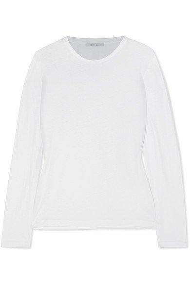 Ninety Percent | + NET SUSTAIN Faye organic cotton-jersey top | NET-A-PORTER.COM