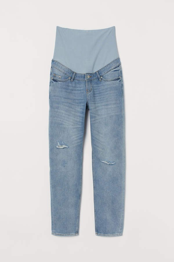 MAMA Boyfriend Jeans - Blue