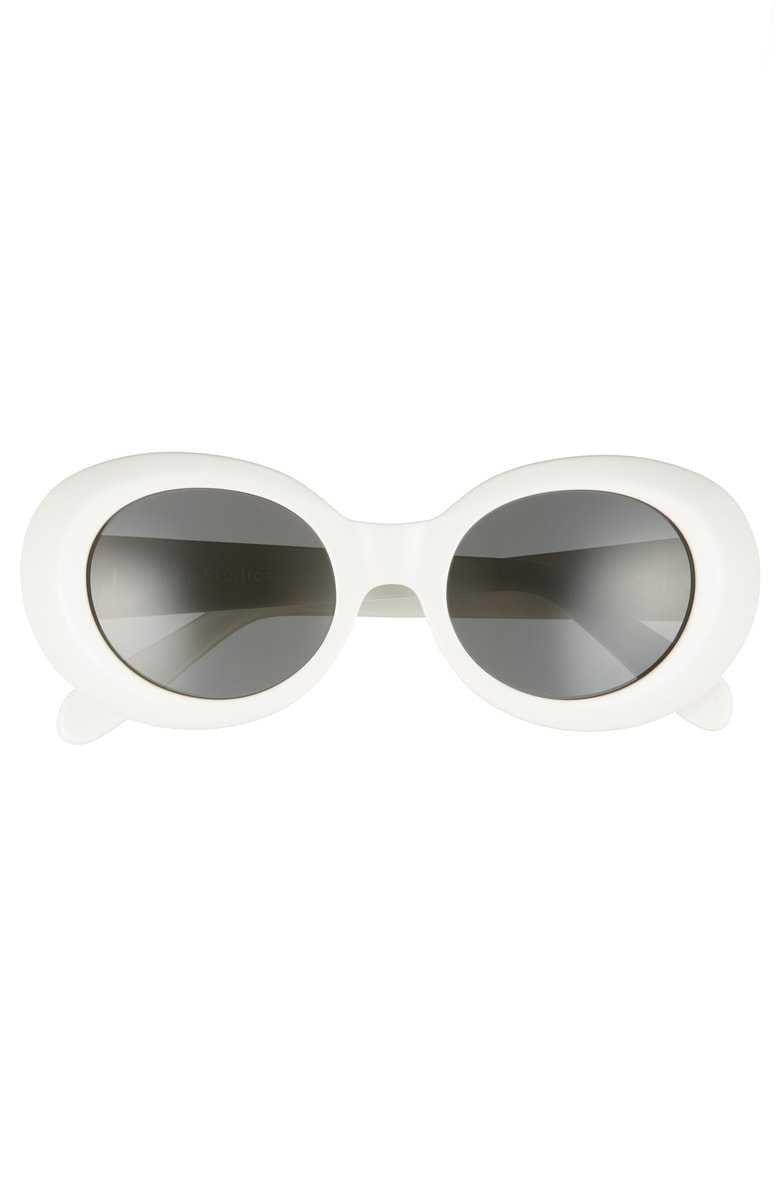Acne Studios | Mustang 48mm Sunglasses in White
