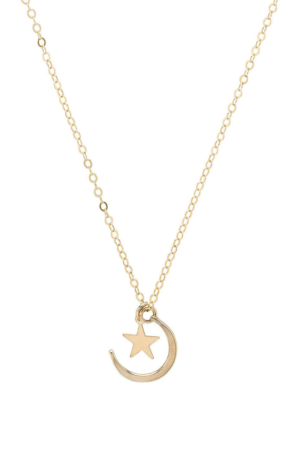 Moon & Stone Necklace