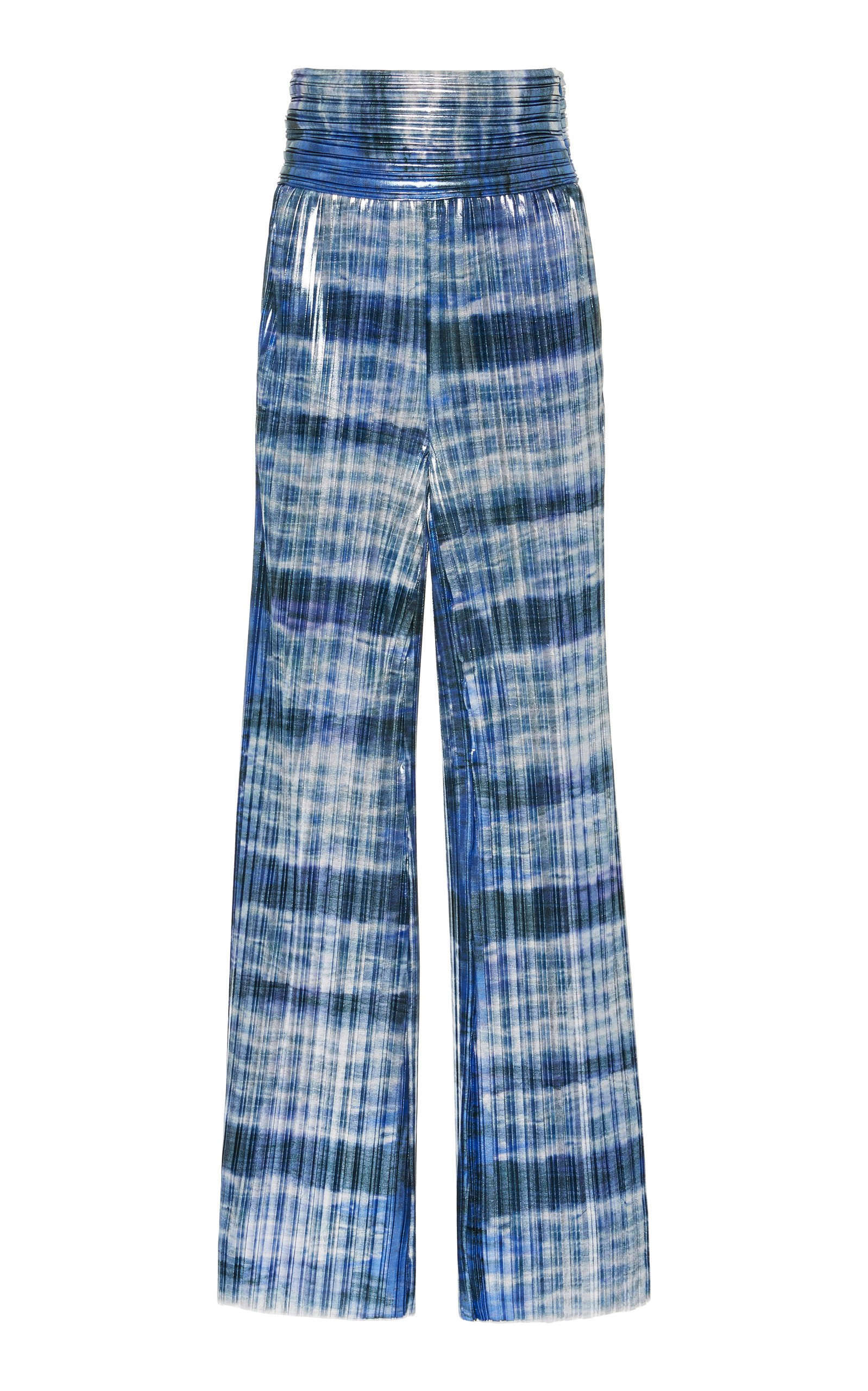 SemSem Patterned Wide-Leg Pants