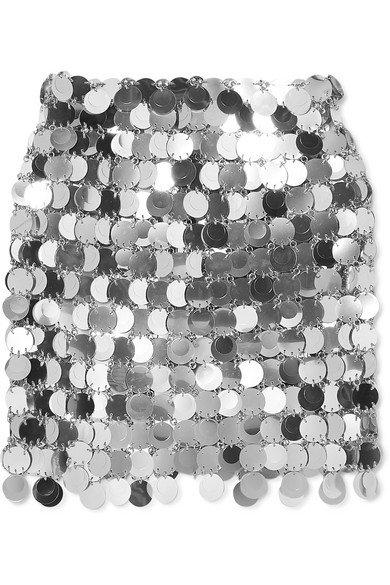 Paco Rabanne | Sequined mini skirt | NET-A-PORTER.COM