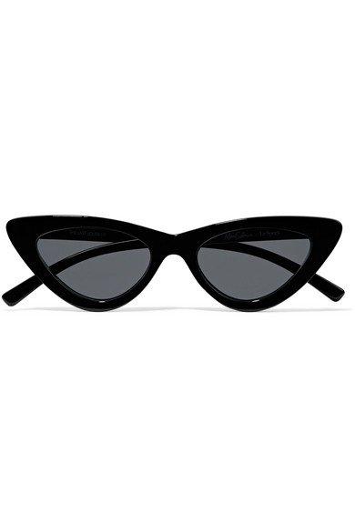 Le Specs | + Adam Selman The Last Lolita cat-eye acetate sunglasses | NET-A-PORTER.COM