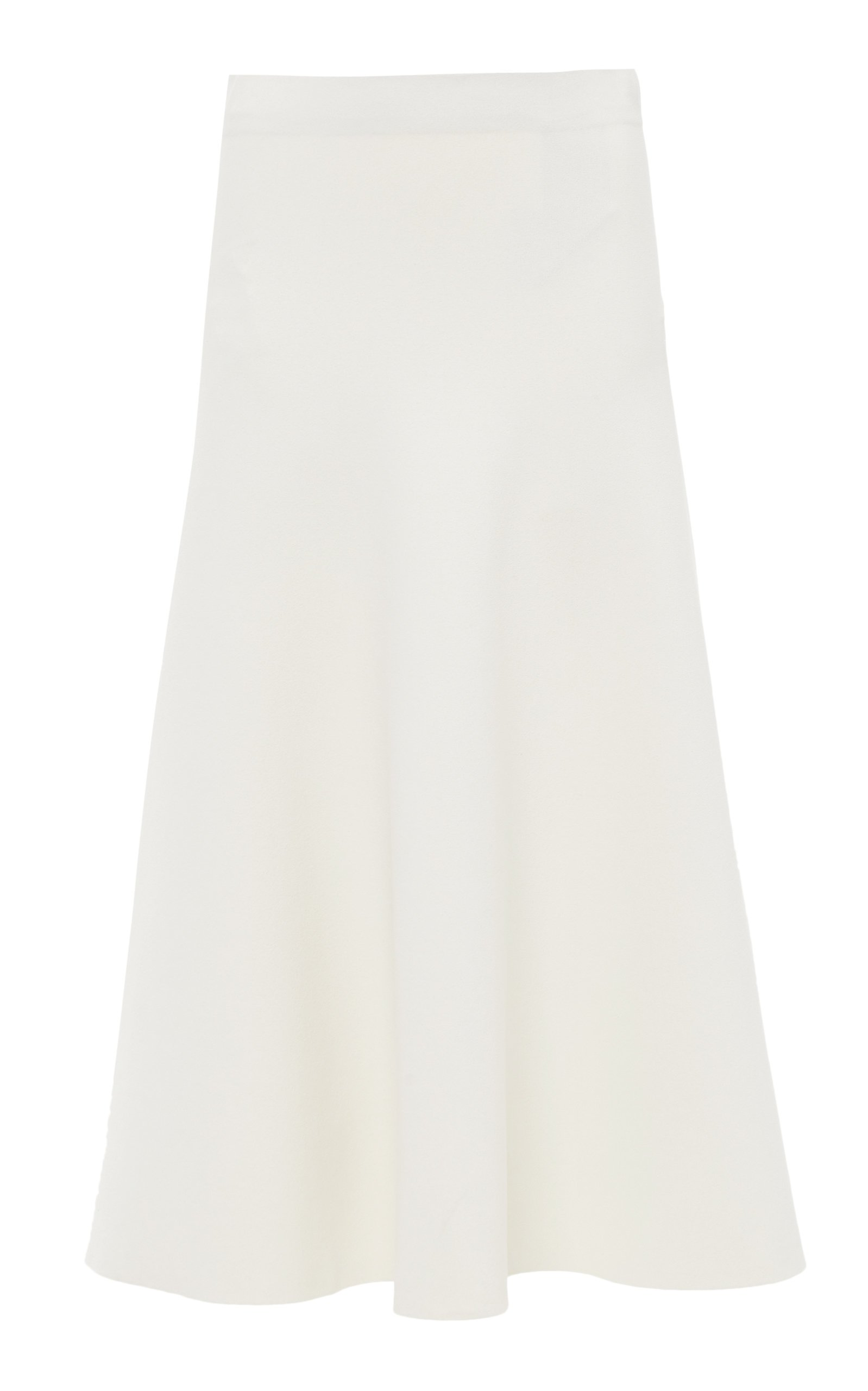 Jil Sander Crepe Midi Skirt Size: 38
