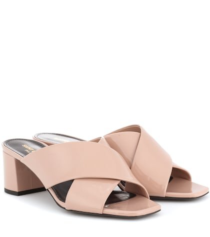 Loulou 50 patent leather sandals
