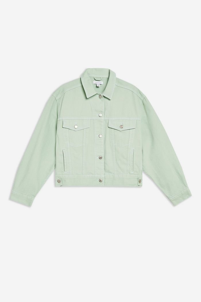 Mint Boxy Denim Jacket | Topshop mint