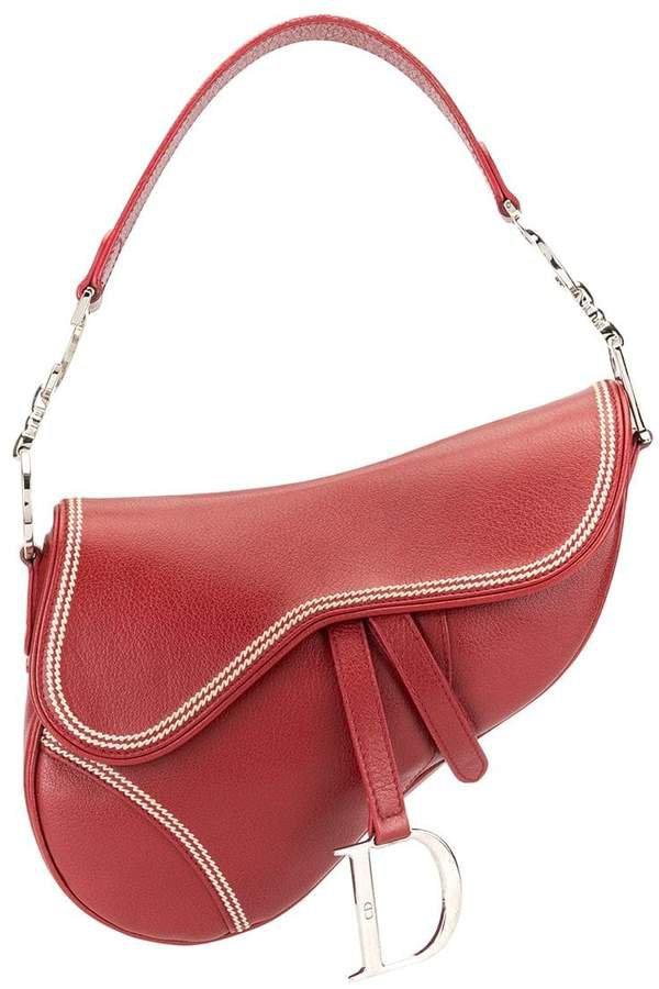Pre-Owned Saddle shoulder bag